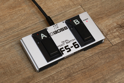 BOSS DR-01S FS-6使用イメージ