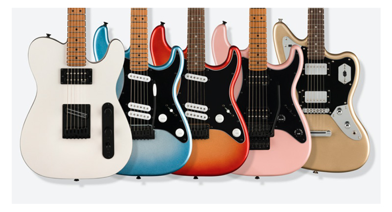 「SQUIER® CONTEMPORARYシリーズ」